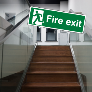 British Standard Fire Exit Signs